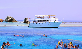 Boat trip to Ras Mohamed or Tiran Island