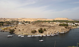 Half Day visit to Aswan Islands