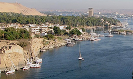 Half Day visit to Aswan Islands (Panorama)